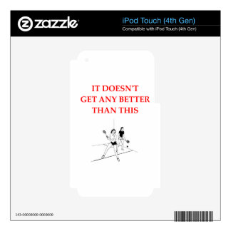 racquetball decals for iPod touch 4G