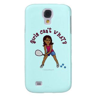 Racquetball Girl (Dark) Samsung Galaxy S4 Case