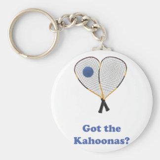 Racquetball Kahoonas Llavero Redondo Tipo Pin