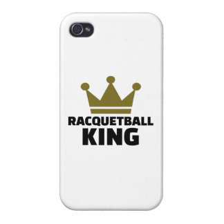 Racquetball king iPhone 4/4S cover
