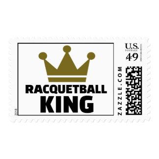 Racquetball king postage