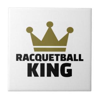 Racquetball king tile