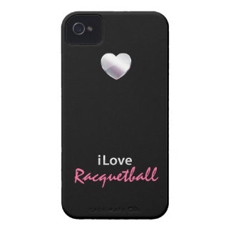 Racquetball lindo Case-Mate iPhone 4 protector