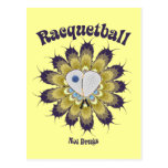 Racquetball Not Drugs Postcard