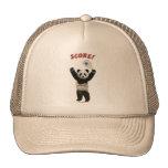 Racquetball Panda Score Trucker Hat