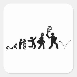 Racquetball Colcomanias Cuadradass