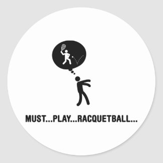 Racquetball Pegatinas Redondas