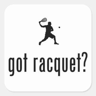 Racquetball Pegatina Cuadradas