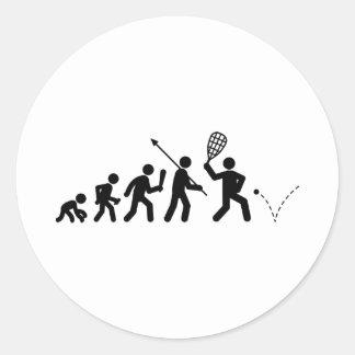 Racquetball Etiqueta Redonda