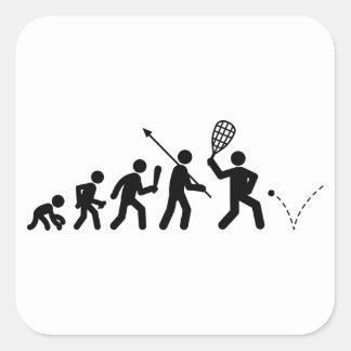 Racquetball Pegatina Cuadradas Personalizadas