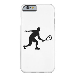 Racquetball player barely there iPhone 6 case