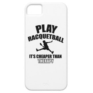 Racquetball player designs iPhone SE/5/5s case
