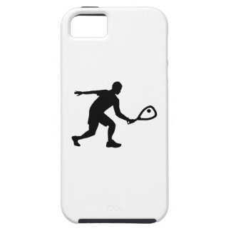 Racquetball player iPhone SE/5/5s case