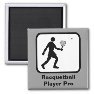 Racquetball Player Pro Magnets