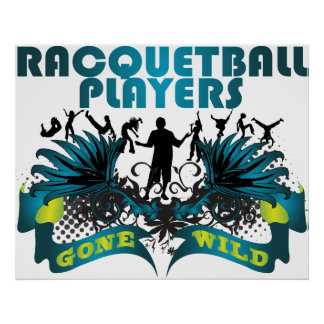 Racquetball Players Gone Wild Poster
