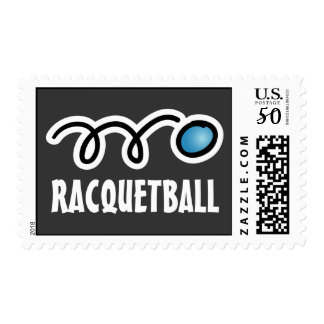 Racquetball postage stamps