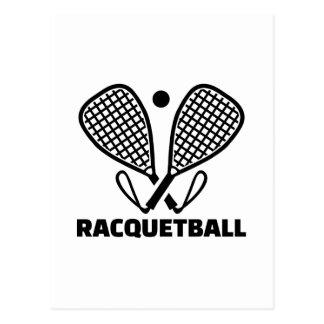 Racquetball Postcard