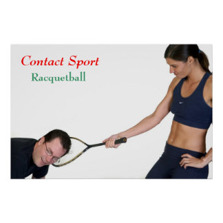 Racquetball Poster