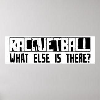 ¿Racquetball qué más está allí Poster