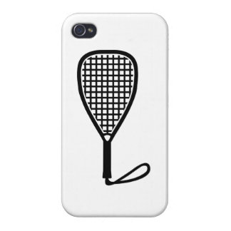 Racquetball racket iPhone 4/4S case