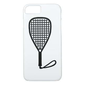 Racquetball racket iPhone 8/7 case