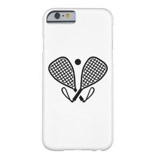 Racquetball rackets barely there iPhone 6 case