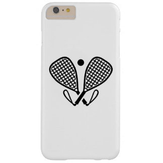 Racquetball rackets barely there iPhone 6 plus case