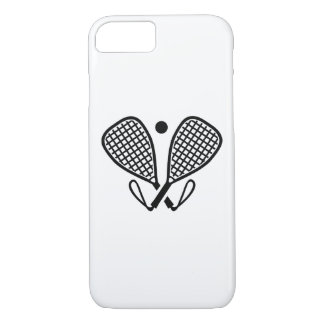 Racquetball rackets iPhone 8/7 case
