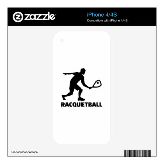 Racquetball Skin For The iPhone 4S