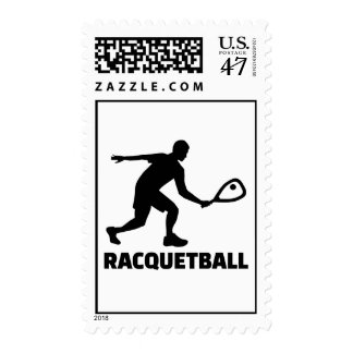 Racquetball Stamp