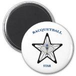 Racquetball Star Magnet