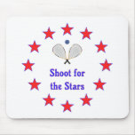 Racquetball Stars Mouse Pad