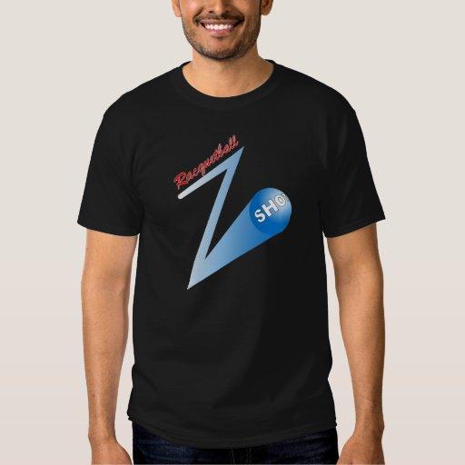 Racquetball 'Z' Shot dark T Shirt