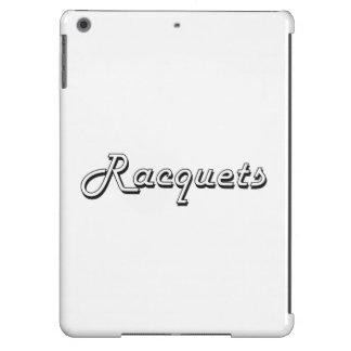 Racquets Classic Retro Design Cover For iPad Air