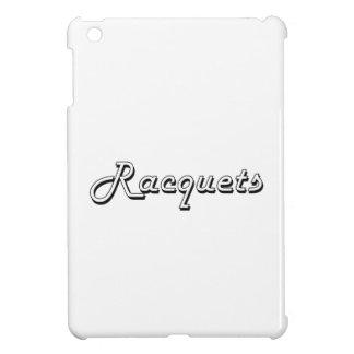 Racquets Classic Retro Design Cover For The iPad Mini