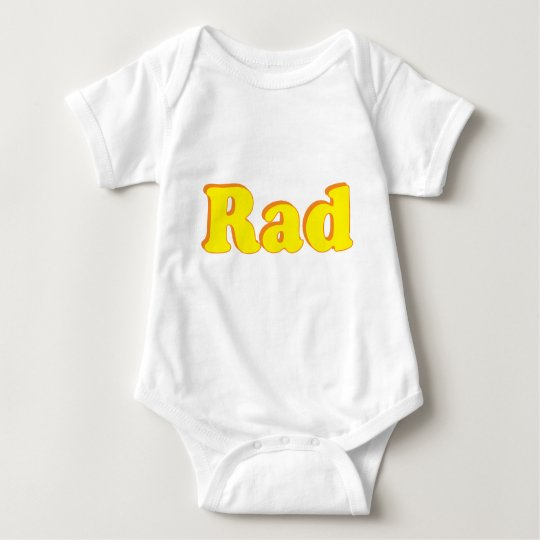 Rad Baby Bodysuit