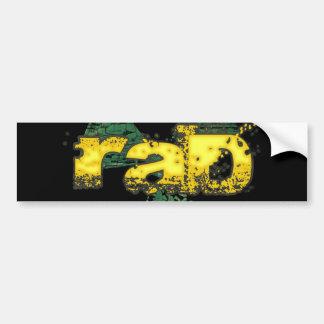 Rad Bumper Sticker