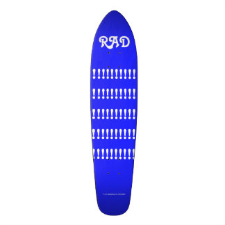 RAD!!!!!!!!!!!!!!!!!!!!!!! by Grassrootsdesigns4u! Skateboard Deck