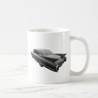 Rad Cad 1960 Cadillac Classic White Coffee Mug