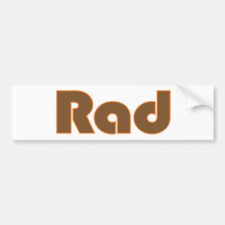 Rad Etiqueta De Parachoque