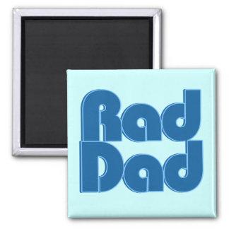 Rad Dad 2 Inch Square Magnet