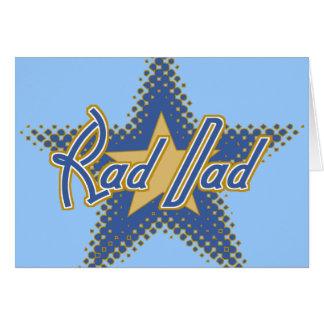 Rad Dad, Dad is Rad Card