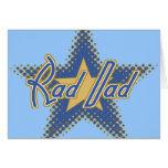 Rad Dad, Dad is Rad Greeting Cards