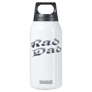 Rad Dad Father's Day Insulated Water Bottle