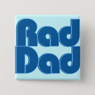 Rad Dad Pinback Button