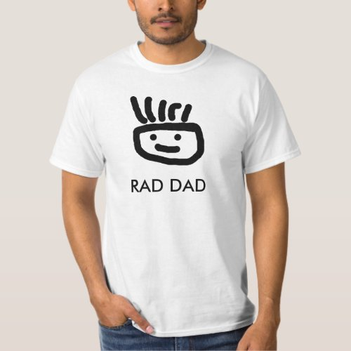 RAD DAD T_shirt