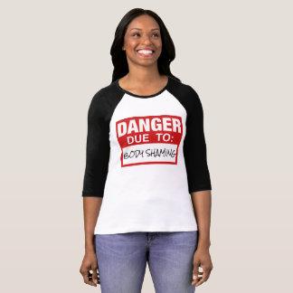 "Rad ""Danger Due To Body Shaming"" Progressive Top"