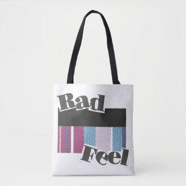 Beach Themed Rad Feel Tote Bag