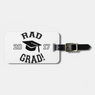 Rad Grad 2017 Bag Tag