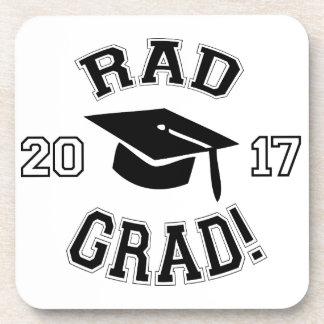 Rad Grad 2017 Beverage Coaster